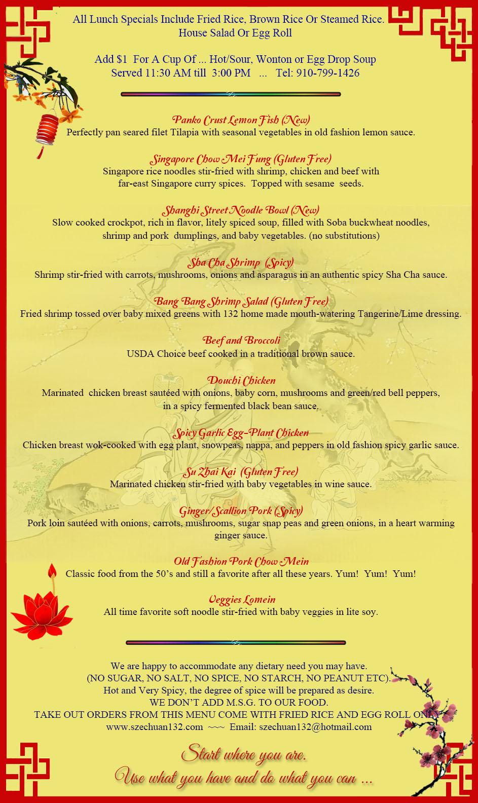 11-02-19 Lunch menu