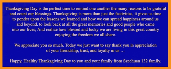 Thanksgiving Messages 2019 banner